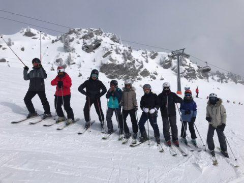 hector on skis – wie man auf den Fotos sehen kann