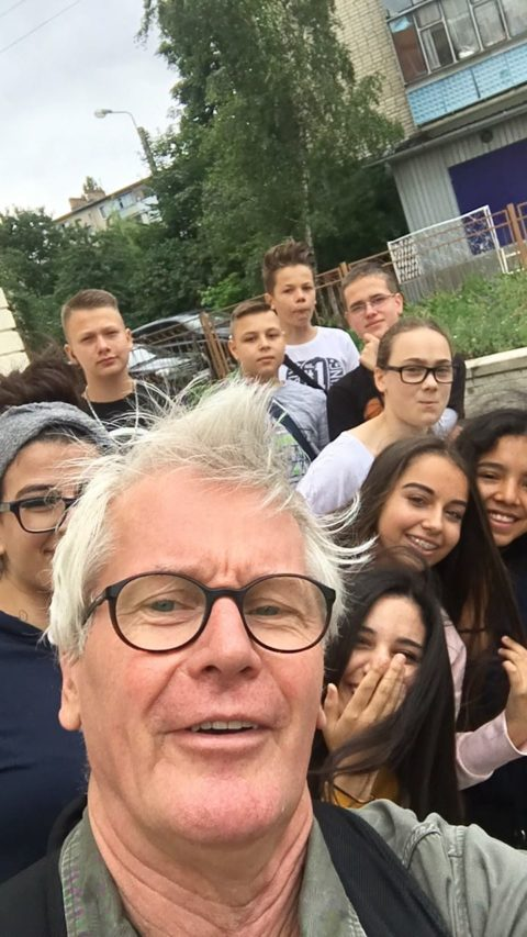 Unsere Schüler im Land der Fußball WM